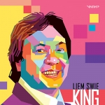 Liem Swie King in Pop Art