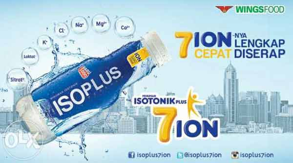 Publisher Isoplus Si Pendatang Baru Minuman Isotonik